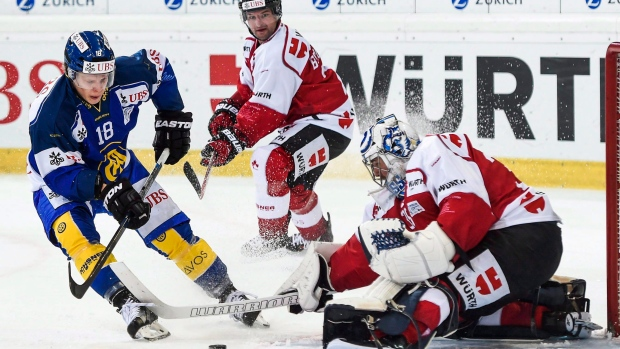 Jeff Glass at Spengler Cup