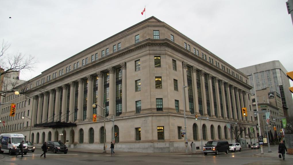 Ottawa Wellington Building renovation
