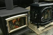 New wood burning stoves. (Feb. 23, 2009)