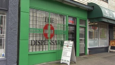 The Vancouver Dispensary Society is one of dozens of pot shops that have remained open despite not being licensed by the municipal government. (CTV)