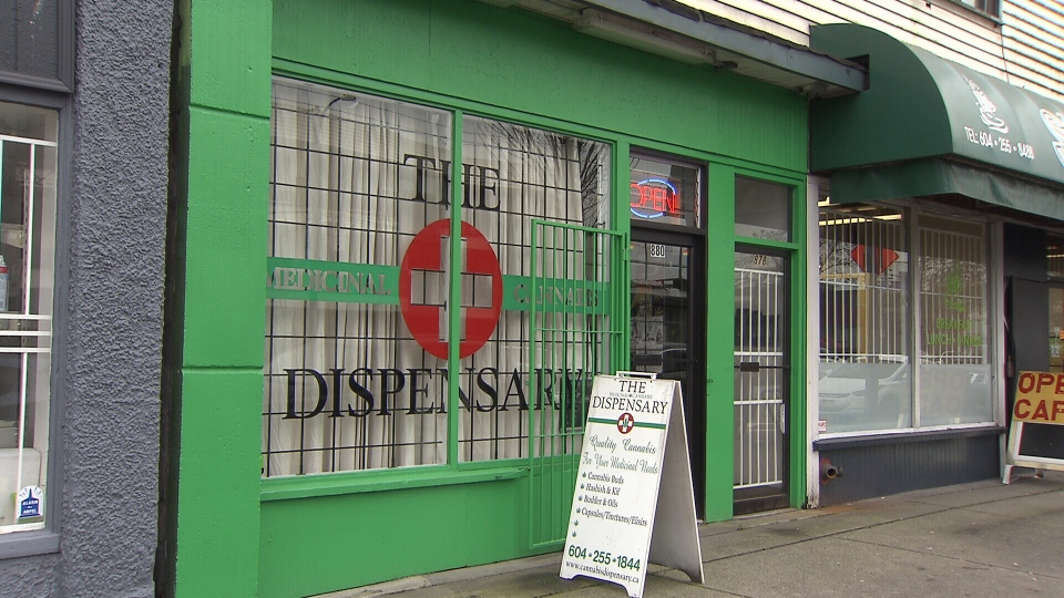 Dana Larsen owns the Vancouver Dispensary Society, one of 61 dispensaries that chose to defy the bylaw and remain open.