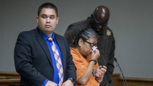 Jaylin Kema appears in Hilo Circuit Court in Hilo, Hawaii on Thursday, Dec. 1, 2016. (Hollyn Johnson / Hawaii Tribune-Herald)