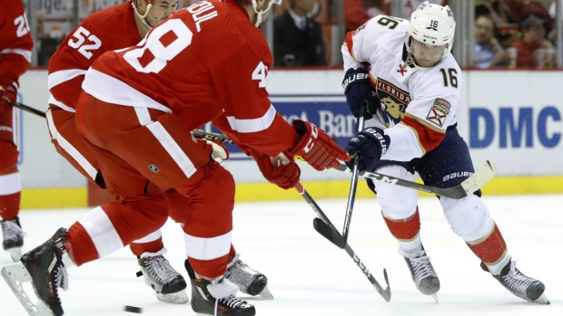 Barkov nets winner against Red Wings