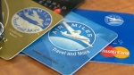 Cards from the Air Miles loyalty program are seen in this file photo.