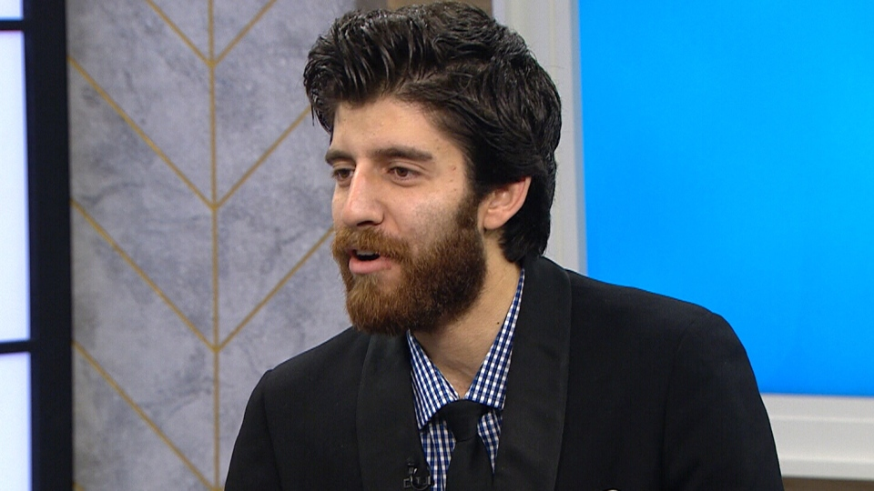 Tareq Hadhad speaks on CTV's Your Morning on Friday, Dec. 2, 2016.