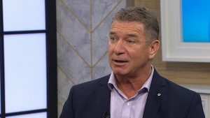 Rick Hansen appears on CTV's Your Morning in Toronto, Friday, Dec. 2, 2016.