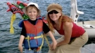 Ryan Alexander Lovett is shown with his mother Tamara Lovett in this undated handout image provide by the child's father Brian Jerome from his Facebook page. (THE CANADIAN PRESS/HO-Brian Jerome-Facebook)