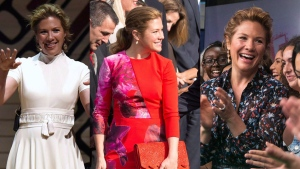 Sophie Gregoire Trudeau seen at various events throughout 2016. (CP Images)