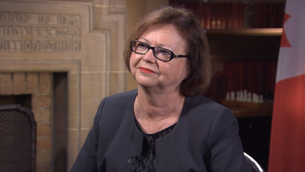 Procurement Minister Judy Foote on CTVQP