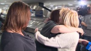 The heartfelt reunion. (CTV Toronto)