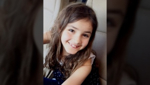 Layla Sabry was located with her mother, Allana Haist, on Dec. 12, 2016.