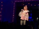 Madonna performs during Art Basel Miami Beach, Saturday, Dec. 3, 2016, in Miami Beach, Fla. (AP Photo/Kelli Kennedy)