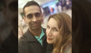 Mohammed Shamji, 40, and wife Elana Fric Shamji, 40, are shown in an undated photo.