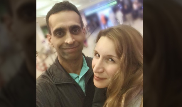 Mohammed Shamji, 40, and wife Elana Fric Shamji, 40, are shown in an undated photo.