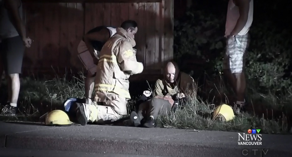 There are questions in B.C. over whether the provincial government is doing enough to support emergency workers who suffer from post-traumatic stress disorder.
