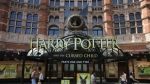 "Palace Theatre promotes its new show ""Harry Potter and the Cursed Child.""