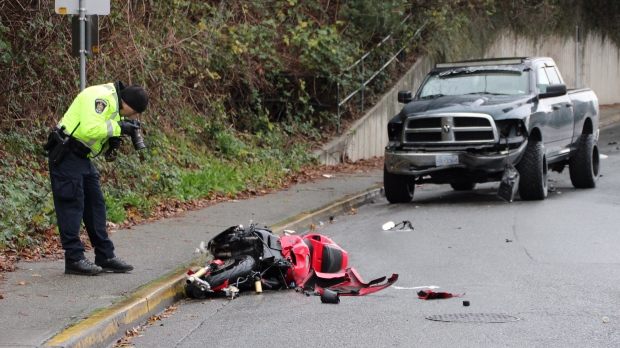 Motorcyclist Dies After Head On Crash In Abbotsford Ctv