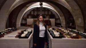 Virginie Routis, head sommelier at the Elysee Palace