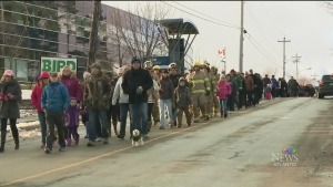 CTV Atlantic: Walk held for Catherine Campbell