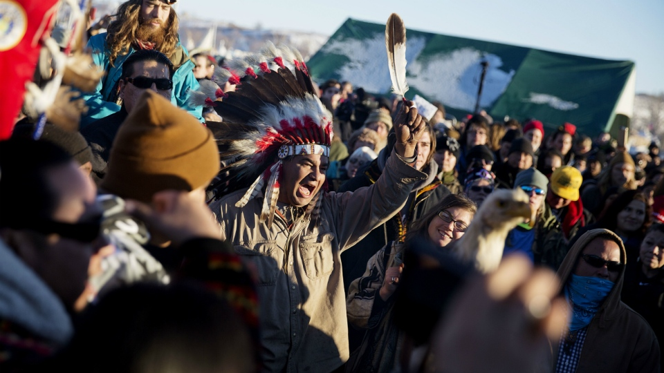 Celebrations in N.D. after easement decision
