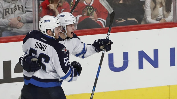 Winnipeg Jets beat Chicago Blackhawks