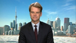Conservative leadership candidate Chris Alexander speaks to CTV News Channel from Toronto, on Monday, Dec. 5, 2016.