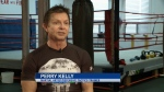 Battling PTSD, Perry Kelly's bouts in the ring are a nod to his own past and a show of support for those with struggles of their own.