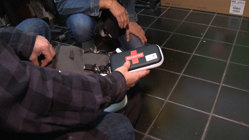 The mental health teams are mobile and can meet their clients in their homes, at supportive housing facility or in encampments: (CTV News)
