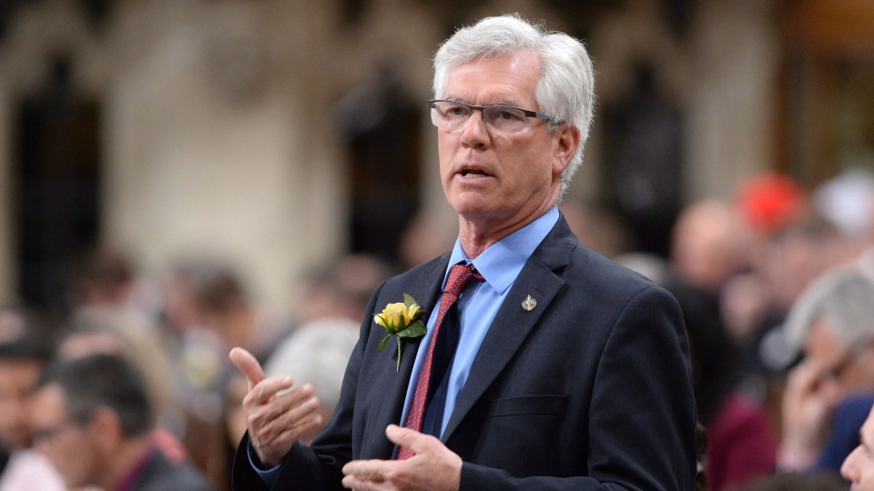 """Natural Resources Minister Jim Carr is demanding an apology from the Conservatives over an MP's """"sexist"""" language."""