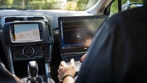 Uber self-driving car. (Angelo Merendino / AFP)