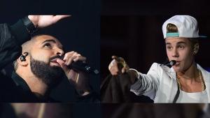 Drake, justin Bieber
