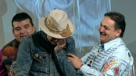 Gord Downie breaks down during am honouring ceremony by First Nations chiefs in Ottawa, Tuesday, Dec. 6, 2016.