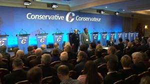 CPC leadership debate in Moncton