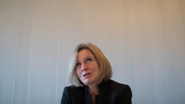 Alberta Premier Rachel Notley speaks during an interview in Vancouver, B.C., on Tuesday December 6, 2016. (THE CANADIAN PRESS / Darryl Dyck)