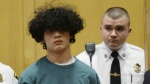 Mathew Borges, 15, attends his arraignment in Lawrence District Court in Lawrence, Mass. on Monday, Dec. 5, 2016. (Paul Bilodeau / The Eagle-Tribune)