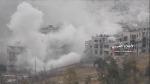 Violent battles erupt in eastern Aleppo