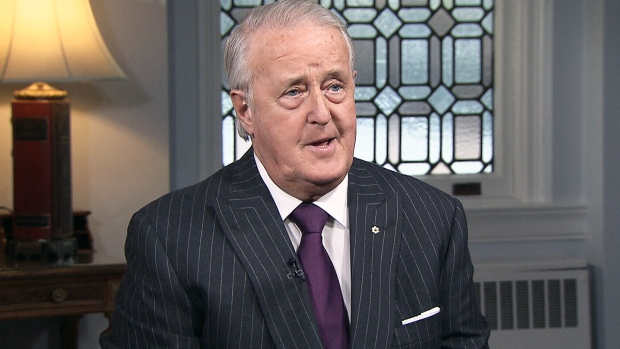 Former Prime Minister Brian Mulroney appears on CTV's Power Play, Tuesday, Dec. 6, 2016