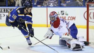 Montreal Canadiens goaltender Al Montoya