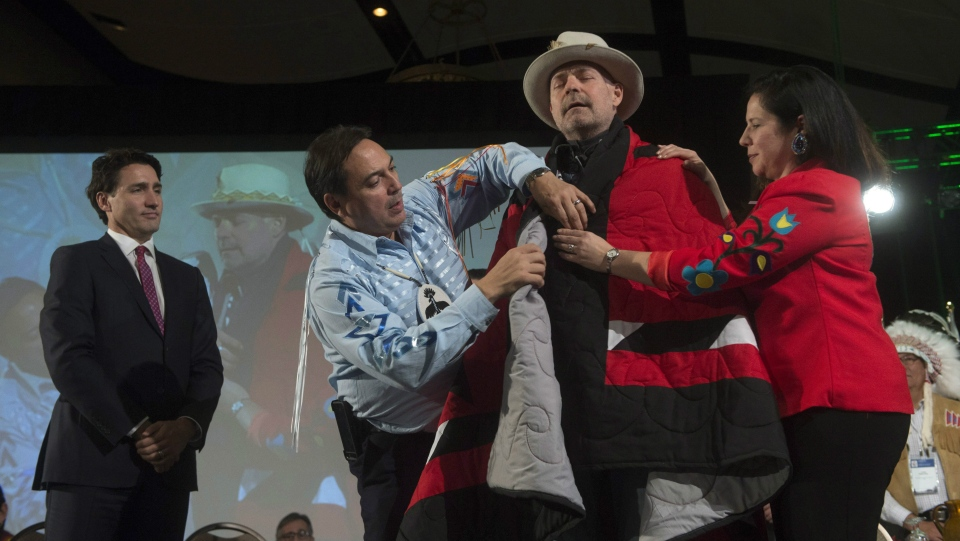 Image result for gord downie blanketing ceremony