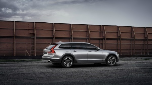 The Volvo V90 Cross Country with Polestar Performance Optimization is seen in this provided photo. © Volvo