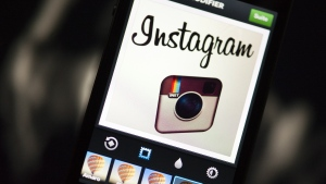 The Instagram logo is seen in this undated photo. © AFP / LIONEL BONAVENTURE