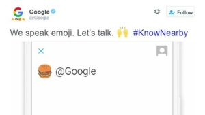Users can now use Twitter emojis to search on Google. © Twitter/Google