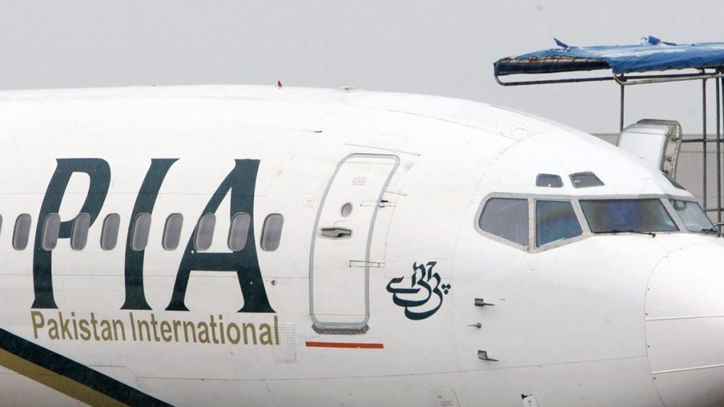 Pakistan International Airlines passenger jet