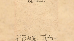"This cover image released by Reprise Records shows ""Peace Trail,"" the latest album by Neil Young. (Reprise Records via AP)"
