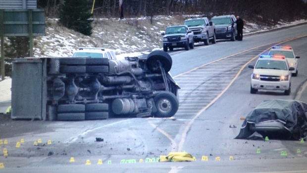 Pictou County truck driver charged in fatal 2016 crash