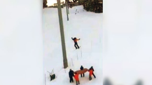 Terrifying ordeal: Teen dangles off Whistler chair
