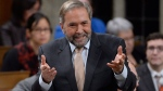 NDP Leader Tom Mulcair asks a question during question period in the House of Commons on Parliament Hill in Ottawa on Wednesday, Dec.7, 2016. THE CANADIAN PRESS/Adrian Wyld