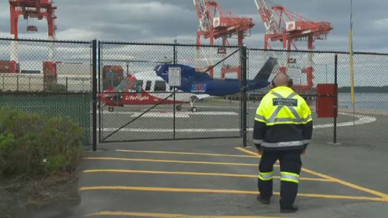 Nova Scotia's LifeFlight helicopter was banned from rooftop hospital landings under federal regulations in April of 2016. An interim plan requires the existing helicopters to land at an alternate site near a Halifax park.