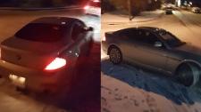 Suspect vehicle in road rage incident