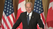 Joe Biden speaks at Ottawa dinner